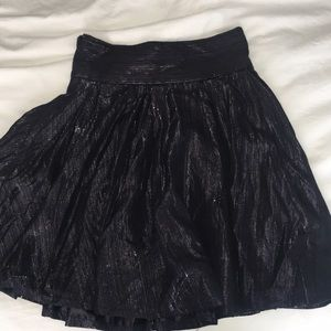 High wasted french connection skirt